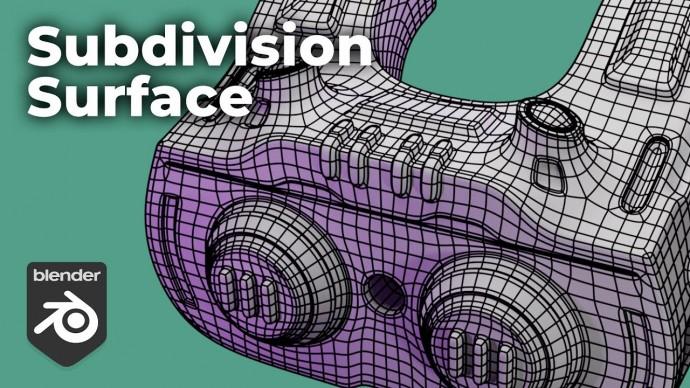 Графика: Subdivision surface modeling за 4 минуты Blender - видео