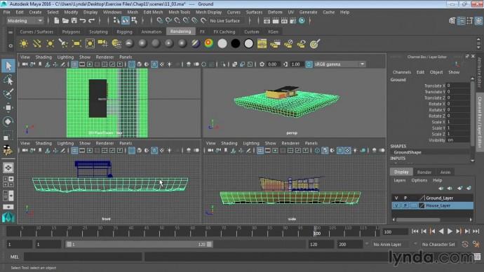 Графика: 12 03 Использование цилиндрической проекции - видео
