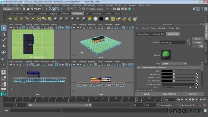 Графика: 12 02 Базовые понятия UV mapping - видео