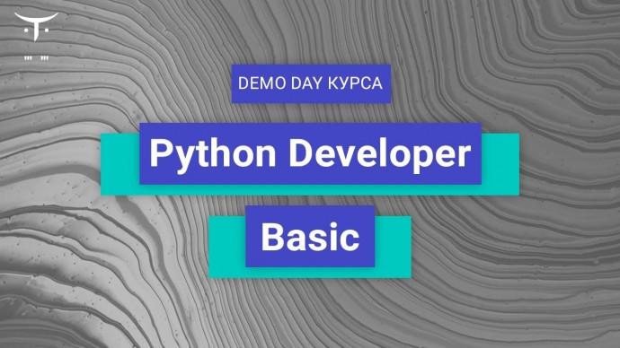 OTUS: Demo Day онлайн-курса «Python developer. Basic» - видео -
