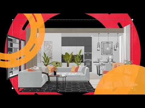 Графика: Дизайн интерьера в SketchUp - видео
