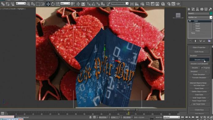 Графика: 3d Professional 64.Сloth часть5. Создаем различные полотенца в 3ds max - видео