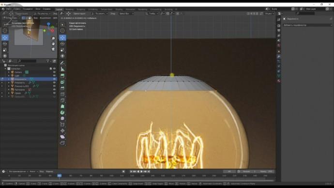 Графика: моделирование лампочек и подушек для стока в 3D программе blender - видео