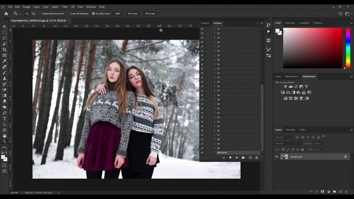 Графика: Winter Premium Actions. Премиум коллекция зимних экшенов для фотошоп. (Алексей Кузьмичев) -