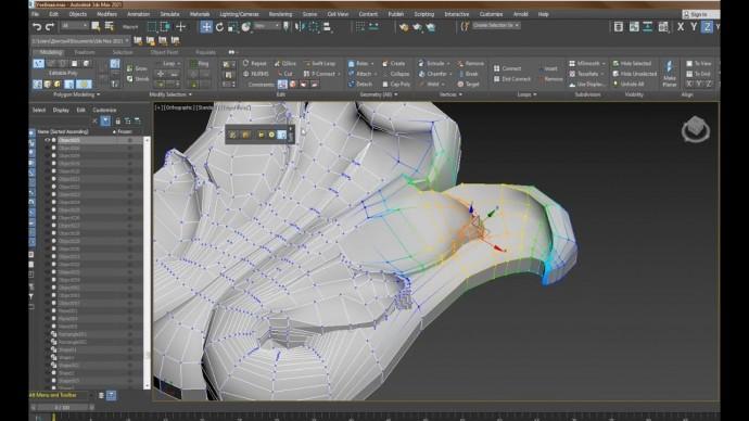 Графика: 1.5 Начинаем изучать панель Toggle Ribbon (Graphite Modeling Tools) в 3ds Max 2021 - видео