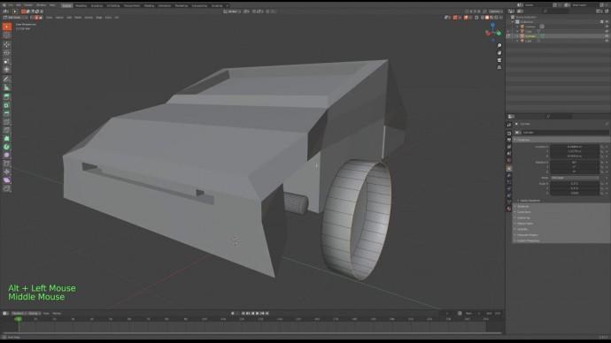 Графика: Урок 7 – Создаем модель - видео
