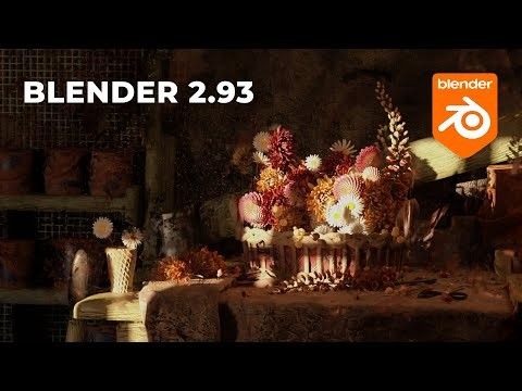 Графика: Обзор Blender 2.93 - видео