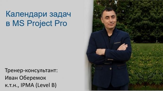 Графика: Календари задач в MS Project Pro - видео