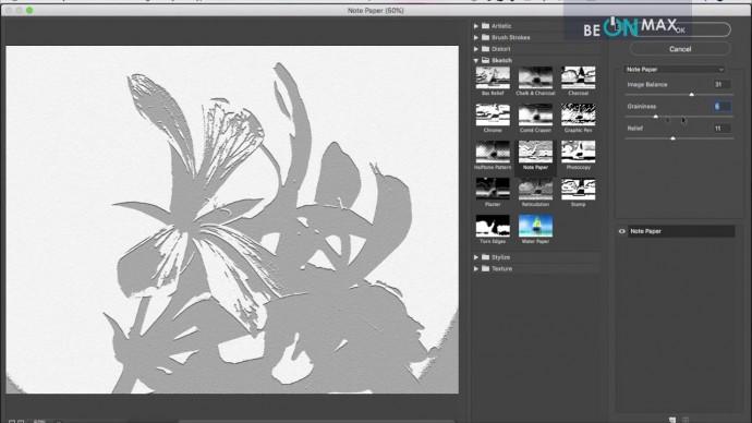 Графика: 55.Группа фильтров Sketch (Эскиз) - видео