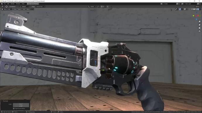 """Графика: Ролик курса """"Создание игровых моделей в Blender"""" - видео"""