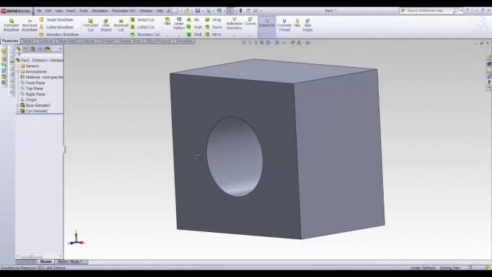 Графика: SolidWorks урок для начинающих. Часть 2 из 3. - видео