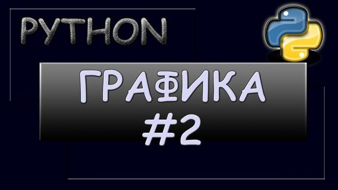 Графика в Python: Анимация. Передвижение объектов. - видео