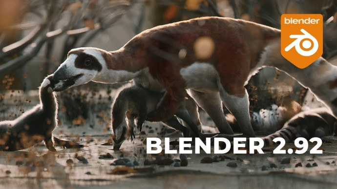 Графика: Обзор Blender 2.92 - видео