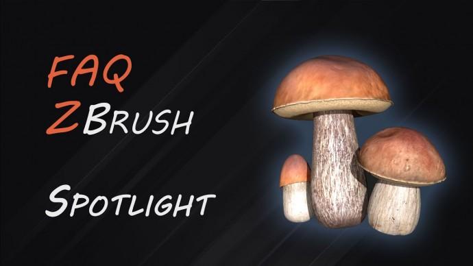 Графика: Цвет и текстуры Spotlight ZBrush | FAQ-12 - видео