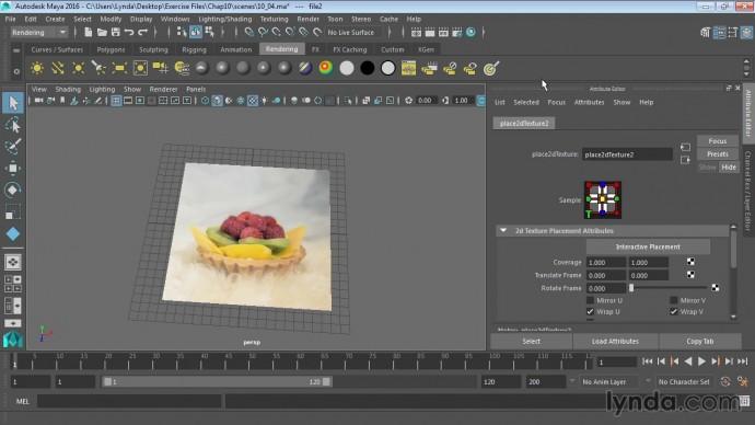 Графика: 11 04 Использование текстур и карт в Maya - видео
