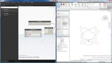 Графика: VC: Dynamo: продвинутый курс: 5.5.1 Вставка элемента по одной точке - видео