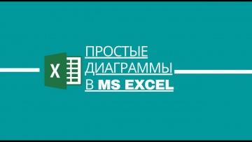 Простые диаграммы в MS Excel - видео