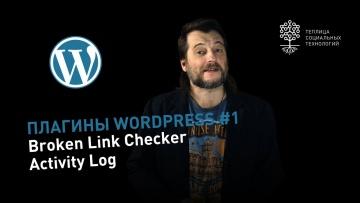Плагины WordPress #1: Broken link checker - отслеживание битых ссылок, Activity log - актив