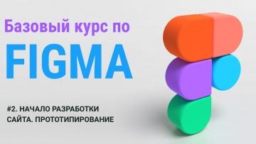 ЛЕКЦИЯ №2. НАЧАЛО РАЗРАБОТКИ САЙТА. ПРОТОТИПИРОВАНИЕ. #figma #фигма #курсы - видео