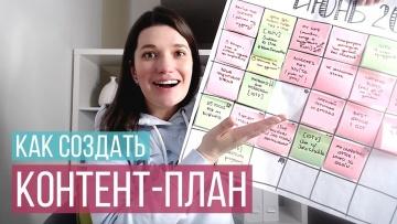 Копирайтер: Как создать простой контент план - видео