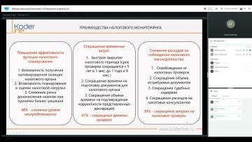 ПБУ: Вебинар «Налоговый мониторинг в 1С:Управление холдингом 3.1» - видео